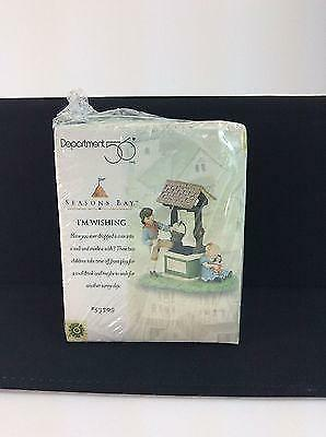 Dept 56 1998 I'M WISHING Seasons Bay 53309 Sealed