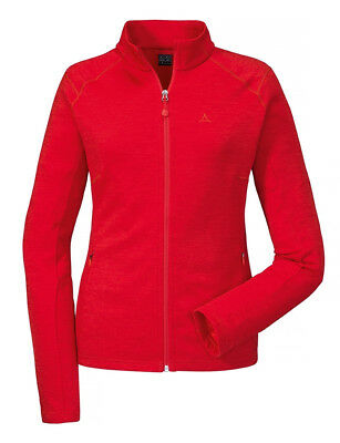 Schöffel Fleece Jacket Nagoya Damen Outdoorjacke rot 11802-2015