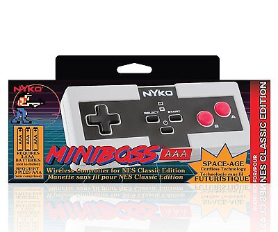 NYKO MiniBoss Wireless Controller for Nintendo NES Mini Classic Edition NEW