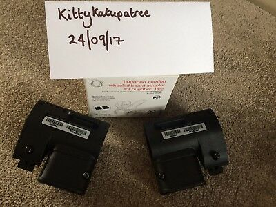 Bugaboo Comfort Wheeled Board Adaptors For Bee Lightly Used