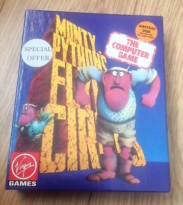 Monty Python's Flying Circus - Rare Amstrad CPC 6128 Disk game