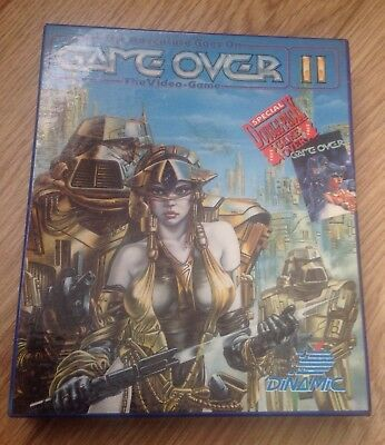 GAME OVER 2 & 1 - Rare Amstrad CPC 6128 Disk game
