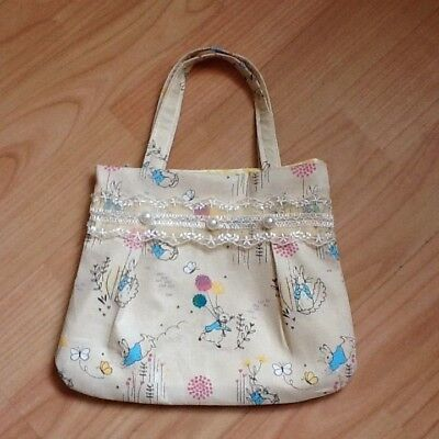 Handmade girls handbag Peter rabbit