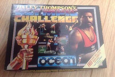 Daley Thompson Olympic Challenge - Rare Amstrad CPC 6128 Disk game
