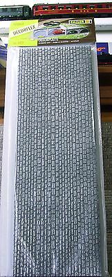 FALLER HO scale - CUT STONE WALLS - 2.5 FEET LONG - textured foam sheets #170863