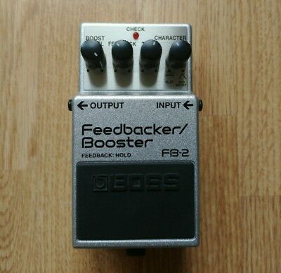 Boss FB 2 Feedback / Booster Pedal (RARE, DISCONTINUED)