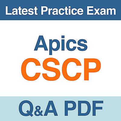Apics Practice Test CSCP Certified Supply Chain Professional Exam Q&A PDF