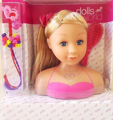 Dolls World Megan Styling Head Playset Blonde