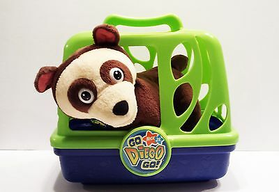 GO DIEGO GO Rescue Animal Talking Badger in Cage Nick Jr. Dora Tested