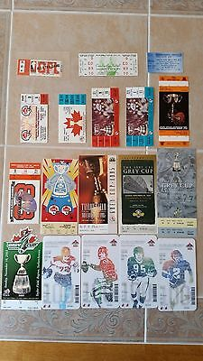 15 Grey Cup Tickets and 3 Misc Tickets