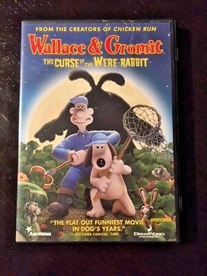 Wallace & Gromit: The Curse Of The Were-Rabbit DVD Wide Screen Version