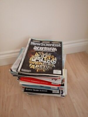 New Scientist 10x assorted magazines