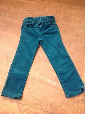 next girls teal skinny cord jeans - age 2-3 years