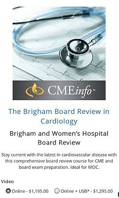 Brigham and Women's Hospital Cardiology Board Review (Latest)
