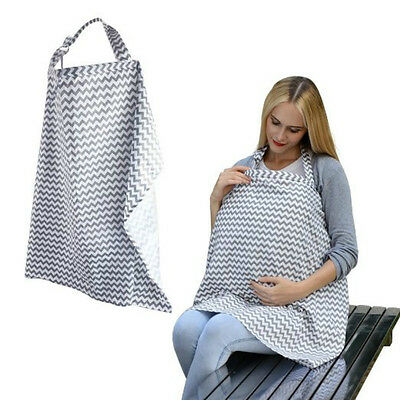 Baby Infant Soft Cotton Nursing Cover Breast Feeding Nursing Blanket Shade Wraps