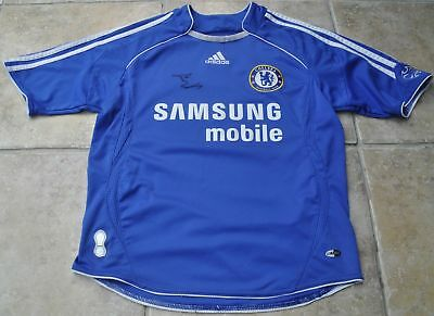 Didier Drogba Signed Chelsea Football Shirt