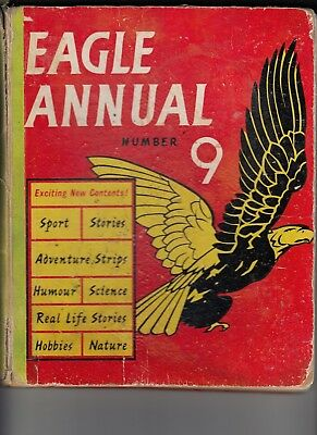 Eagle Annual Number 9 1959 (Hardcover) - slight damage to spine and coloured in