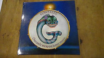 Gonzalez - Our only weapon is our music, vinyl