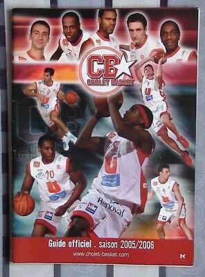 Yearbook basketball Cholet basket France 2005-06