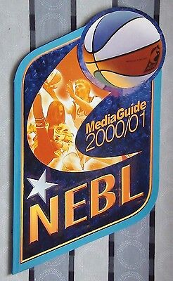 Yearbook basketball NEBL 2000-01