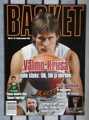 Yearbook basketball Estonia 2006