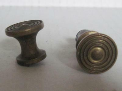 Lot of 2 Antique Phonograph Knobs Vintage Cabinet Pulls Phonograph Parts (#143)