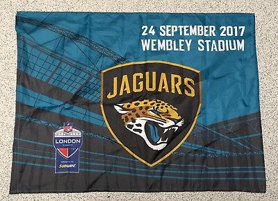 Jaguars Nfl Wembley  2017  Fan Flag