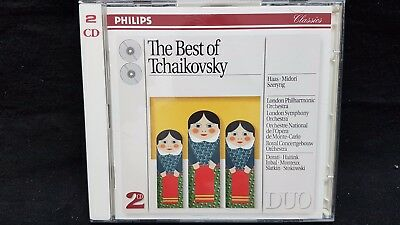 The Best of Tchaikovsky ~ New 2-CD Set (1993, 2 Discs) Germany