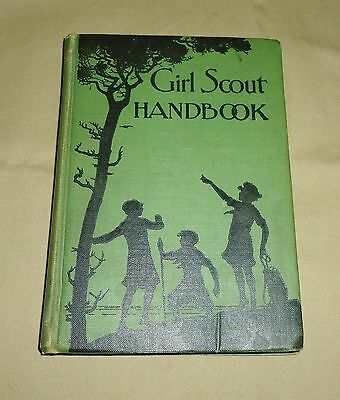 Original 1930 Edition Girl Scout Handbook, Hard Bound, 462 Pages, Great Shape