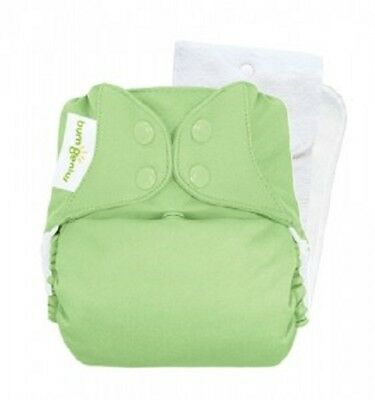 New in Package! BumGenius 4.0 Pocket One-Size Cloth Diaper - Grasshopper