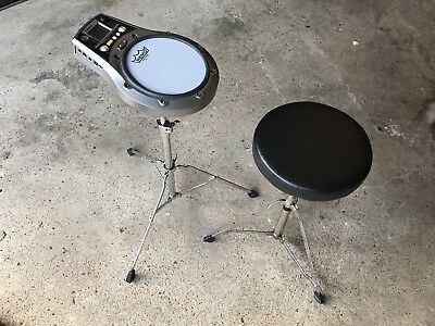 Roland RMP 5 Practice Pad, stand and stool