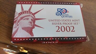 2002 United States Mint Limited Edition Silver Proof Set