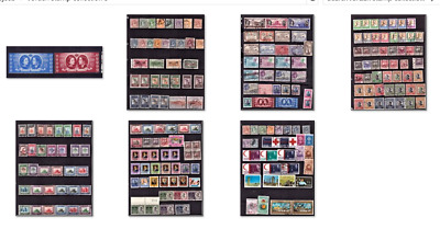 TransJordan. Trans Jordan Stamps collection. Old Large collection. BARGAIN #3
