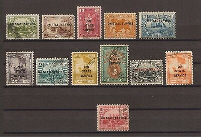 IRAQ 1923 SG O54/65 USED Cat £150