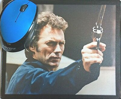Dirty Harry Clint Eastwood Harry Guardino Robinson movie poster Mouse Mat #2 New