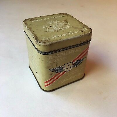Vintage John Middleton Regimental Tobacco Tin Philadelphia
