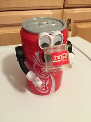 Vintage Coca Cola Can Bank with face