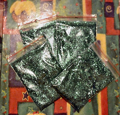 Emerald Green Glitter Sparkle Packs Scrap Booking & Craft Decoration Approx 120g