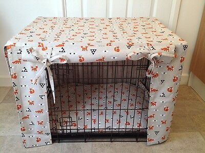Medium Dog Pet Crate Cage Covers - Made to Measure