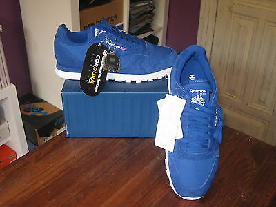 Zapatillas Reebok Classic Cl Leather Cordura  Uk 7.5  Limited Shoes