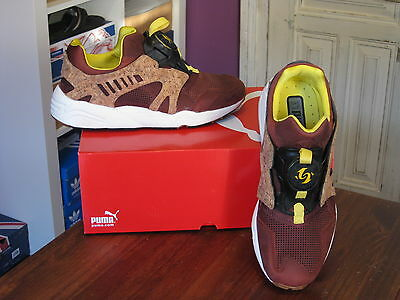 Zapatillas Puma Leather Disc Cage Lux Opt.2 Cork  Uk8  Limited Shoes