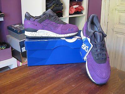 Asics Gel Lyte Iii After Hours Pack Uk7.5  Limited Shoes