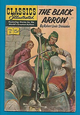 Classics Illustrated Comic 1964 The Black Arrow by Robert Louis Stevenson   #681