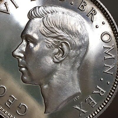 George VI, Proof Florin, Two Shillings, 1937.