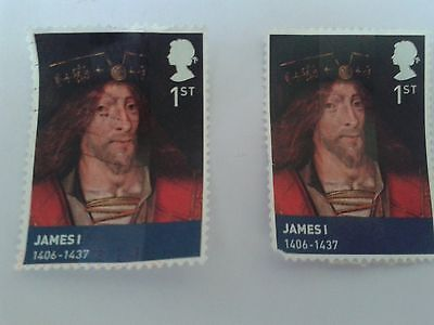 James 1 Great Britain Commemorative stamps