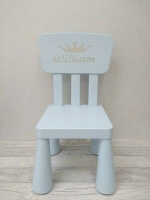 Personalised children's chair