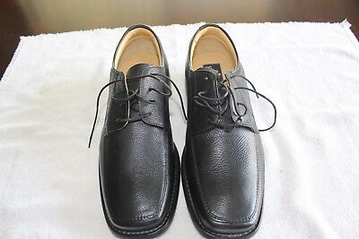 Stafford Hand Crafted Men's Leather Dress Shoes NEW Size 10M - Black