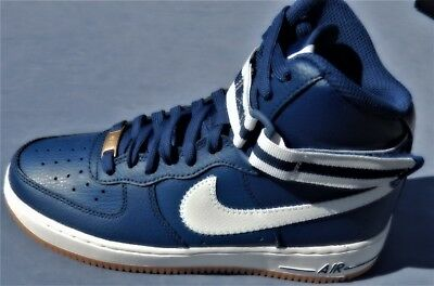 KIDS NIKE AIR FORCE 1 HIGH (GS) multiple YOUTH SIZES BLUE 653998-410