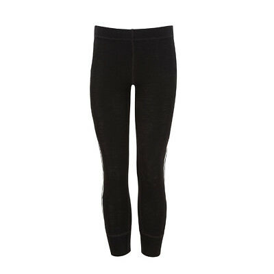 Childrens Merino leggings. Kozikidz brand. Age 5-6 years. Black. Kids merino