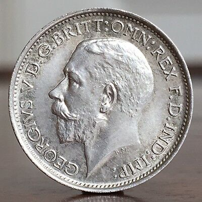 George V, Maundy Fourpence, 4d Coin, 1911. Coronation Year. Possibly A Proof.